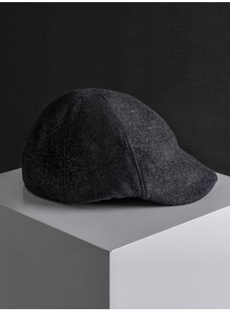 Sombrero--Boina-Color-Negro-Marca-Argento