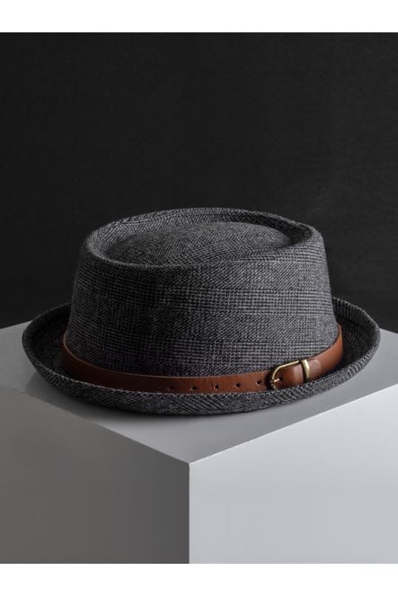 Sombrero--Fedora-Color-Oxford-Marca-Argento