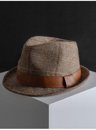 Sombrero--Fedora-Color-Cafe-Marca-Argento