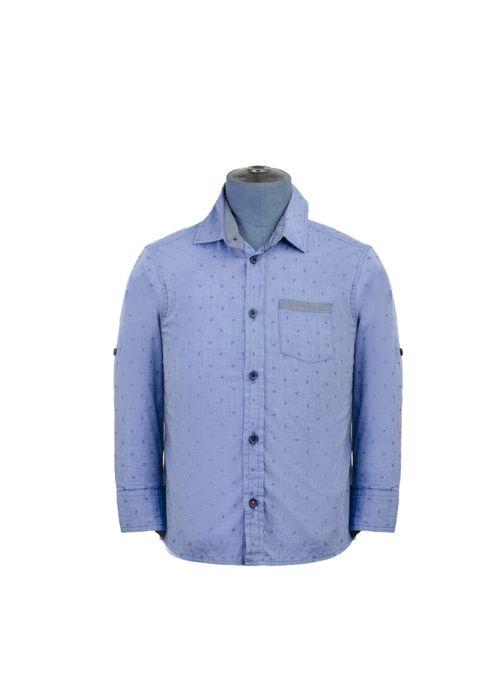 Camisa--Manga-Larga-Color-Azul-Marca-Aldo-Conti-Jr