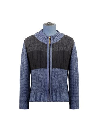 Sweater--Cardigan-Color-Azul-Marca-Aldo-Conti-Jr