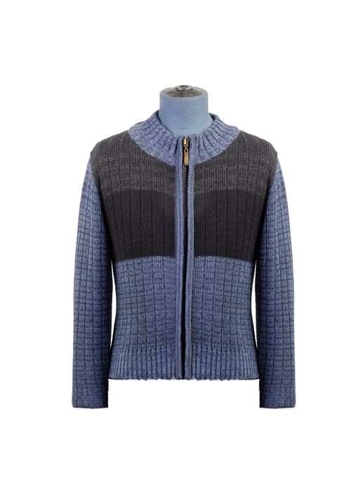 Sweater--Cardigan-Color-Azul-Marca-Aldo-Conti-Jr