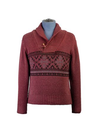 Sweater--Cuello-Redondo-Color-VinoMarca-Aldo-Conti-Jr