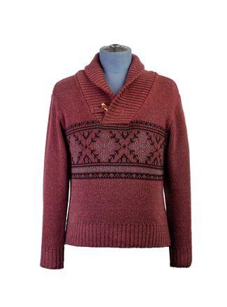 Sweater--Cuello-Redondo-Color-VinoMarca-Aldo-Conti-Jr