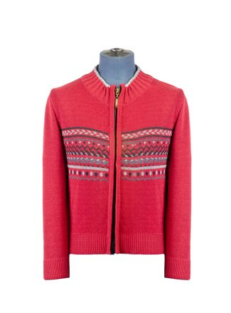 Sweater--Cardigan-Color-Rojo-Marca-Aldo-Conti-Jr