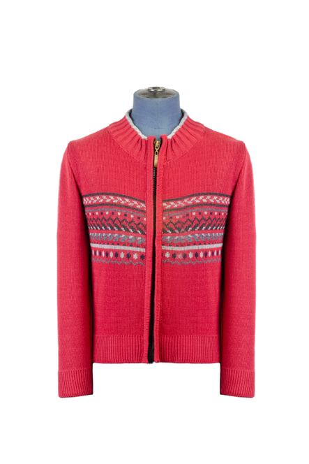 Sweater--Cardigan-Color-Rojo-Marca-Aldo-Conti-Jr