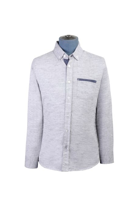 Camisa--Manga-Larga-Color-Gris-Marca-Aldo-Conti-Jr