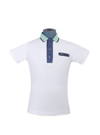 Playera-Polo--Manga-Corta-Color-Blanco-Marca-Aldo-Conti-Jr