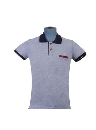 Playera-Polo--Manga-Corta-Color-Azul-Marca-Aldo-Conti-Jr