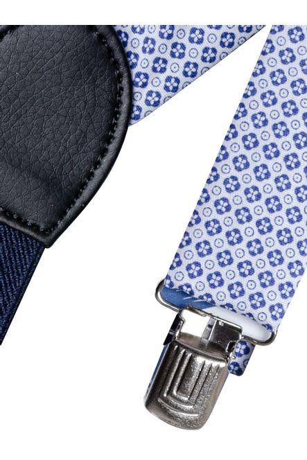 Kit-Tirantes---Moño--Moño-Tirante-Color-Azul-Marca-Aldo-Conti-Jr